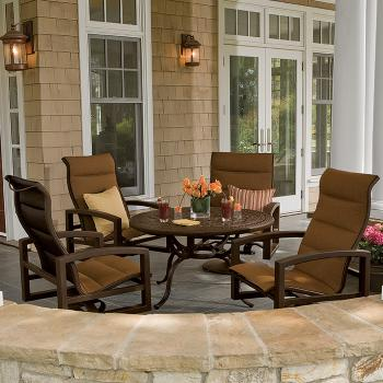 padded sling outdoor furniture