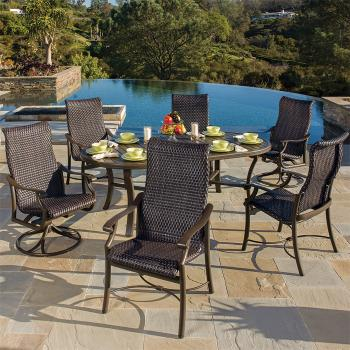 woven patio furniture