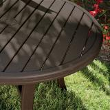 outdoor round tables