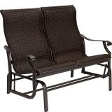 woven double glider outdoor